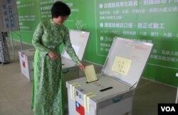 模擬投票(民進黨文宣提供)