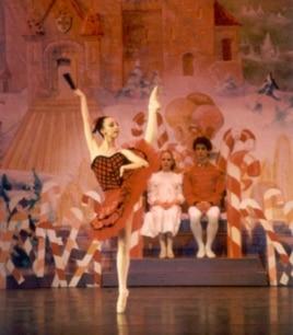 "Maggie Austin in ""The Nutcracker,"" Fresno Ballet, Fresno, CA, 2004"