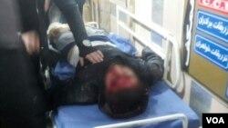 یکی از کشته شدگان تیراندازی پلیس به تجمع معترضان شهرستان درود