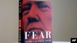 新書《恐懼:特朗普在白宮》(Fear: Trump in the White House)在美國時間星期二正式出版