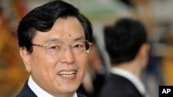 中共中央政治局常委张德江(资料图片)
