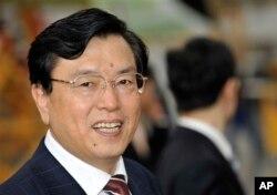 中国全国人大常委会委员长张德江