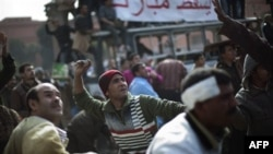 Người biểu tình tuyên bố thứ Sáu là ngày ra đi cho ông Mubarak và họ đã dự trù những cuộc biểu tình đông đảo yêu cầu ông từ chức ngay lập tức