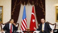 اردوغان در دیدار با رئیس جمهوری آمریکا