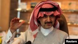 Pangeran Saudi Alwaleed bin Talal – salah satu orang terkaya di dunia - termasuk yang ditangkap dalam penindakan kasus korupsi oleh kerajaan Saudi (foto: dok).