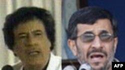 آقايان احمدی نژاد و قذافی برای جلب نظر مساعد آمريکا مسابقه گذاشته اند