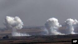 عملیات ترکیه در مرز سوریه -۱۸ مهر