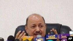Yemen's Deputy Prime Minister Rashad al-Alimi answers reporters' questions about Yemen's role in a failed bombing plot, Sana'a, 7 Jan. 2010