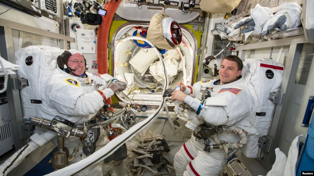 international space station news astronauts - photo #38