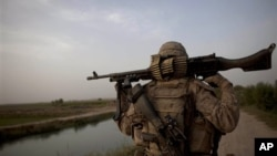 Američki marinac u Avganistanu