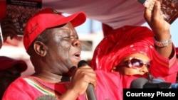 Former Prime Minister Morgan Tsvangirai