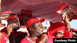 Embattled MDC leader Morgan Tsvangirai. File Pic.