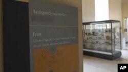 نام سکلر بر بخش آثار ایران و سرزمین شام موزه لوور قرار داشت