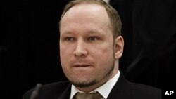 Bị can trong vụ thảm sát ở Na Uy Anders Behring Breivik
