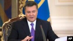 빅토르 야누코비치 우크라이나 대통령 (자료사진)
