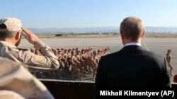 На фото: Путін у Сирії. Грудень, 2017 року