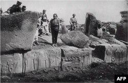 Alacahöyük kazılarının tarihi 1930'lara gidiyor
