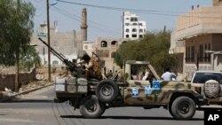 Pemberontak Houthi Syiah di Sanaa, Yaman (Foto: dok).