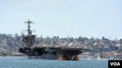 ABŞ-ın təyyarədaşıyan gəmisi USS Karl Vinson