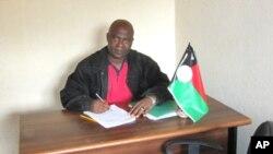 Adolese Mango, secretário do PRS no Huambo