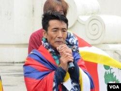 西藏台湾人权连线理事长扎西慈仁