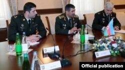 Müdafiə naziri Zakir Həsənov Minsk qrupunun həmsədrləri ilə görüşüb