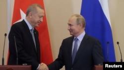 Sastanak Putina i Erdogana u Sočiju