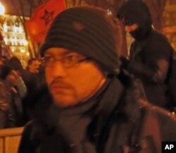 反普京示威人士叶夫根尼