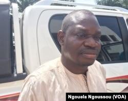 L'opposant Paul Marie Mpouele avait tenté une médiation dans le Pool, au Congo, le 3 avril 2017. (VOA/Ngouela Ngoussou)