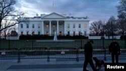 Suasana di depan Gedung Putih, Washington DC (Foto: dok).