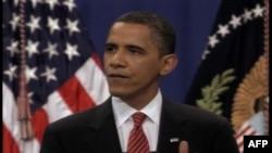 Президент Обама заявил: «Для Соединенных Штатов было жизненно важно направить дополнительно 30 тысяч американских солдат в Афганистан»