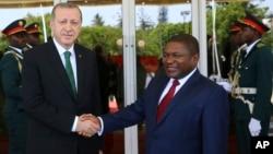 Recep Erdogan fez o pedido da Filipe Nyusi em Maputo