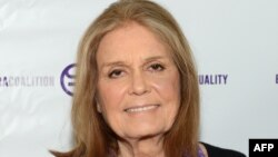 """FILE - Gloria Steinem attends """"A Night of Comedy with Jane Fonda: Fund for Women's Equality & the ERA Coalition"""" on Feb. 7, 2016 in New York City."""