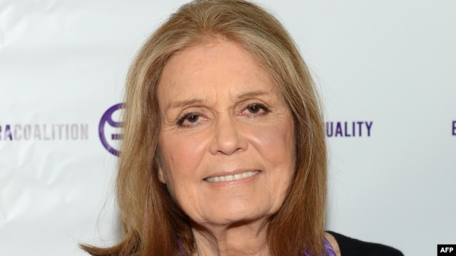 "FILE - Gloria Steinem attends ""A Night of Comedy with Jane Fonda: Fund for Women's Equality & the ERA Coalition"" on Feb. 7, 2016 in New York City."