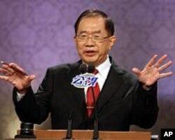 亲民党副总统参选人林瑞雄