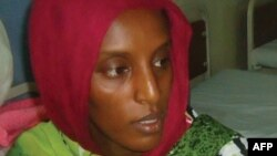 Warga Sudan, Meriam Yahya Ibrahim (foto: dok).