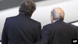 Platini - Blatter