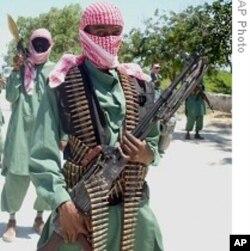 Des militants d'al-Chabab