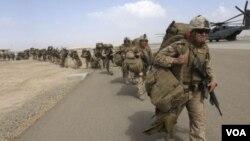 Dakarun Amurka dake taimakawa Sojojin Afghanistan