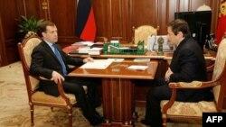 Дмитрий Медведев и Александр Хлопонин