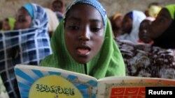 Wata daliba a arewacin Nijeriya, na kokarin yakar jahilci