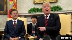 Predsednci Južne Koreje i SAD u Beloj kući