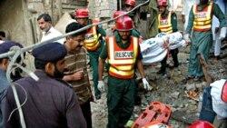 انفجار در زیارتگاه صوفی های پاکستان در شرق لاهور در اکتبر ۲۰۱۰