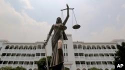 Bangladesh Lady Justice