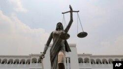 Statue de la justice (archives).
