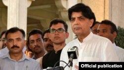 چوہدری نثار خان، فائل فوٹو