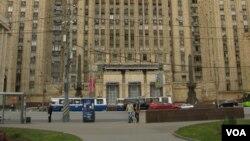 俄罗斯外交部(美国之音白桦拍摄)