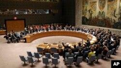지난달 2일 유엔 안전보장이사회에서 북한의 도발에 대응한 추가 제재 결의안을 채택했다. (자료사진)