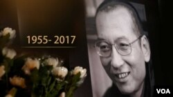 Liu Xiaobo meninggal dunia di Shenyang China pada 13 Juli 2017