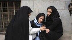 دانشجویان معترض دانشگاه علوم پزشکی ایران
